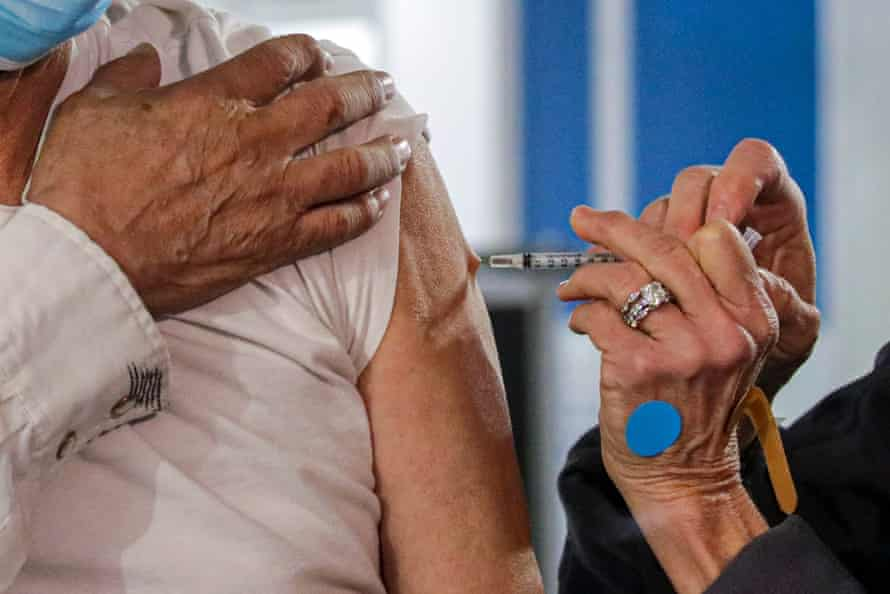 California is one of the few states to prioritize age in their vaccine distribution, a departure from guidelines outlined by the Centers for Disease Control and Prevention.