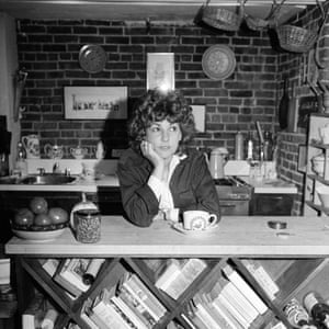 Laurie Colwin, New YorkMandatory Credit: Photo by Darleen Rubin/Penske Media/REX/Shutterstock (6909029b) Author Laurie Colwin in the kitchen of her home, leaning on a bookcase of cookbooks. Laurie Colwin, New York