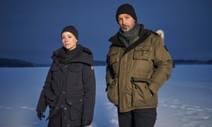 Lise Delorme and Billy Campbell in Cardinal.