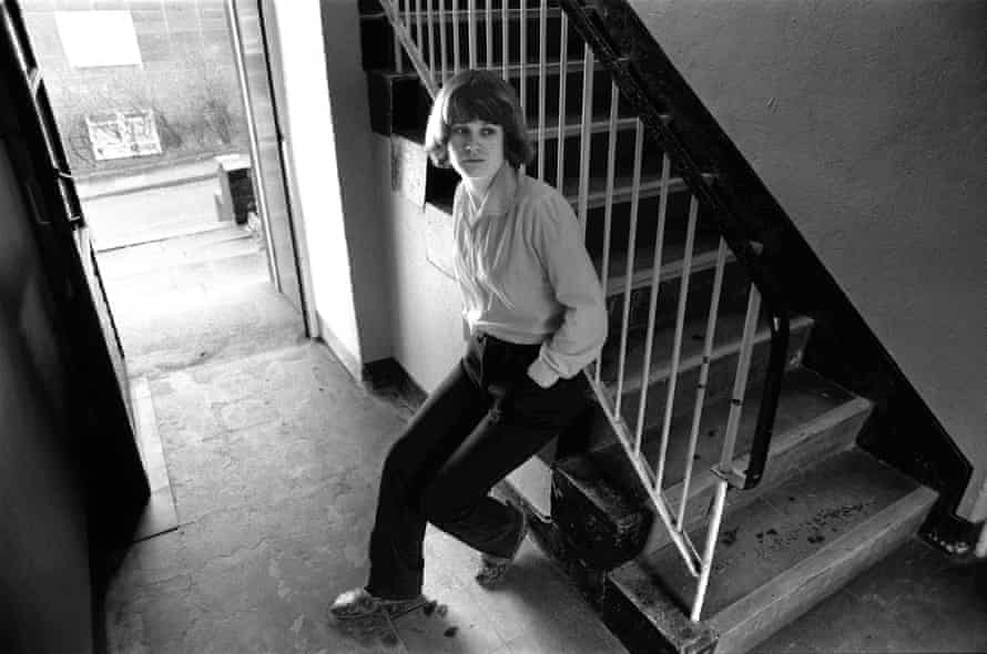 'This is life' … Andrea Dunbar at home on the Buttershaw estate.