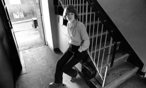 Andrea Dunbar, photographed at home on the Buttershaw estate in Bradford, in the early 1980s