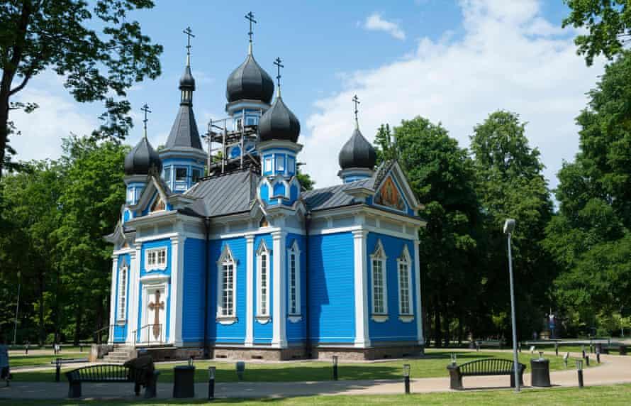 The 'Joy of all who Sorrow' church in Druskininkai, Lithuania.