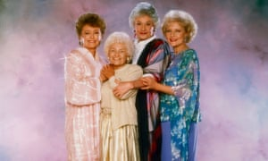 Style icons, Rue McClanahan, Estelle Getty, Bea Arthur and Betty White.