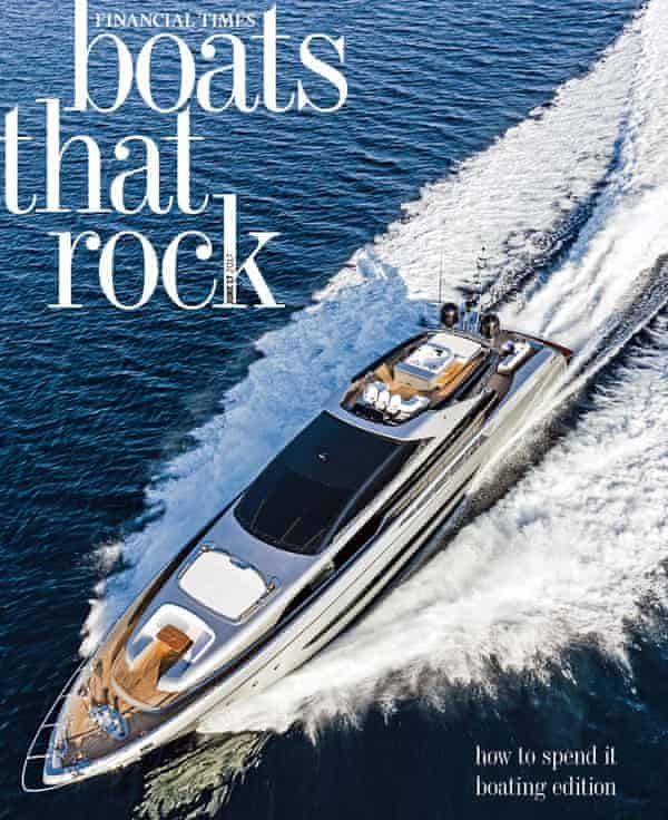 A special boating-focused edition of the FT's How to Spend It magazine from June 2017.