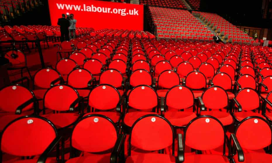 Labour party conference, 2004,