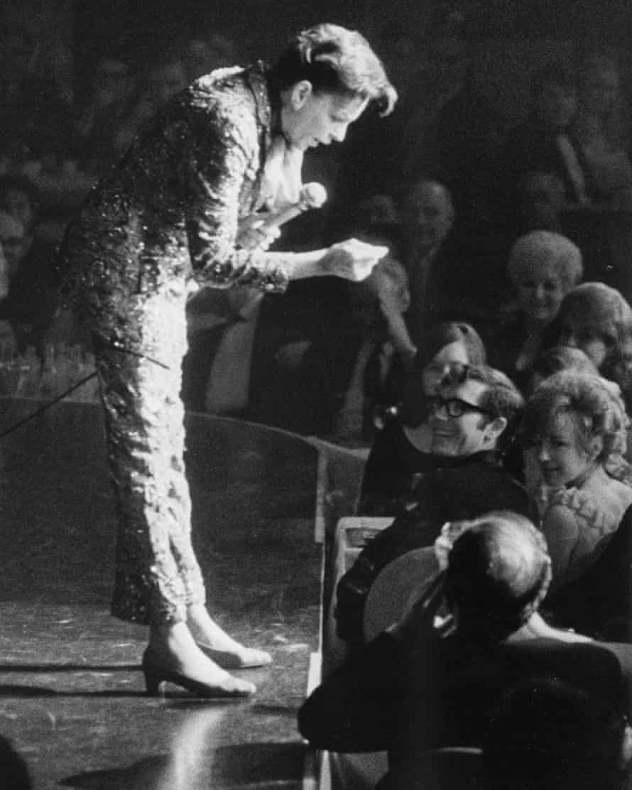 Judy Garland at The Talk of the Town.