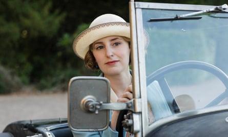Laura Carmichael as Lady Edith.