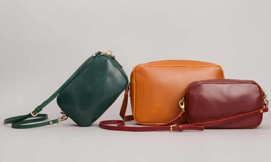 Mimi Berry's handbags are created in factories in London, Manchester and the West Country.