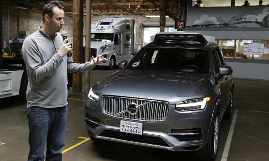 Anthony Levandowski also appeared to argue that California should amend its regulations to accommodate Uber, noting that other states have regulations that 'made clear that they are pro technology'.