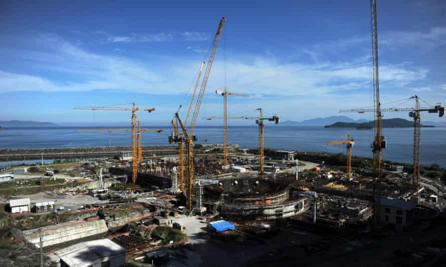 A third nuclear plant under construction in Angra dos Reis, south of Rio de Janeiro, in 2011.