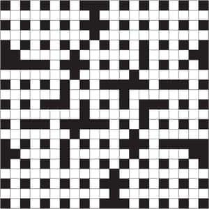 Christmas crossword grid