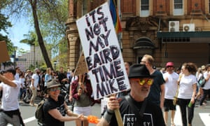The second Keep Sydney Open rally protesting against the city's lockout laws policy attracted an estimated 10,000 people, according to organisers.