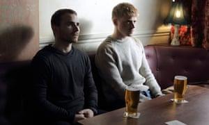 Martin McCann and Jack Lowden in Calibre.