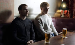 Martin McCann and Jack Lowden in Calibre.