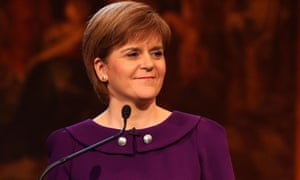 Nicola Sturgeon said a vote for the SNP was a vote to be heard in Westminster.