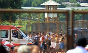 At least nine people died and 14 were injured during clashes when a group of prisoners invaded a pavilion of Aparecida prison in Goiania, Brazil.