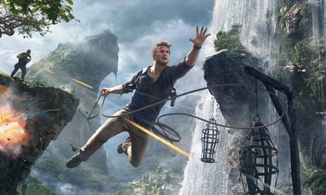 Uncharted 4's action man Nathan Drake.