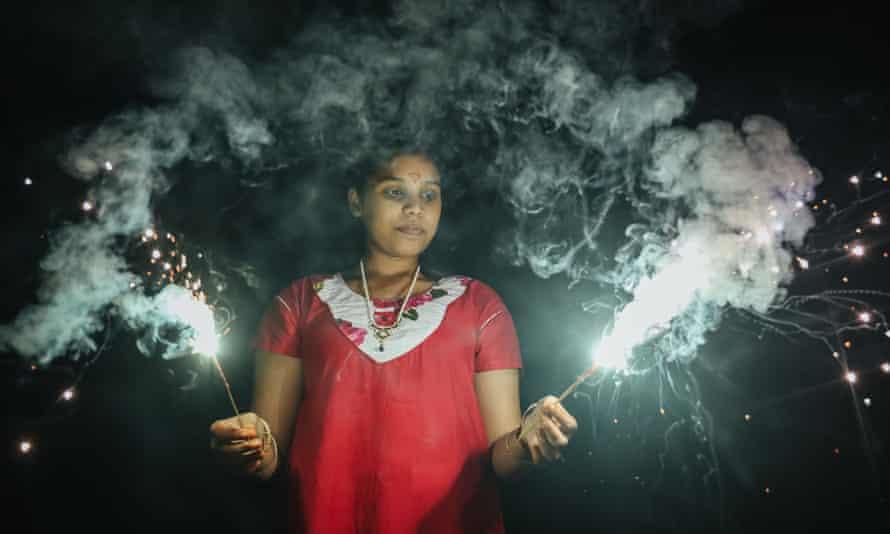 Diwali celebrations in Kuala Lumpur, Malaysia.