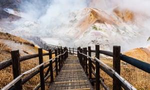 Hell Valley, Noboribetsu