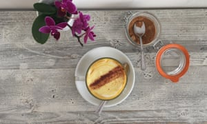 'People got hooked' … A turmeric latte from Nama in London.