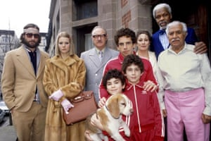 The fictional Tenenbaum clan from Wes Anderson's 2001 film