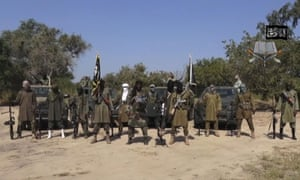 Image taken from video released in October 2014 by Boko Haram