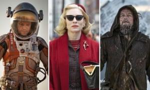 The Martian, Carol, The Revenant