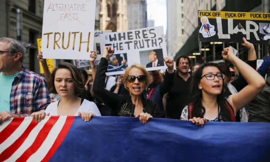 Anti-Trump March for Truth