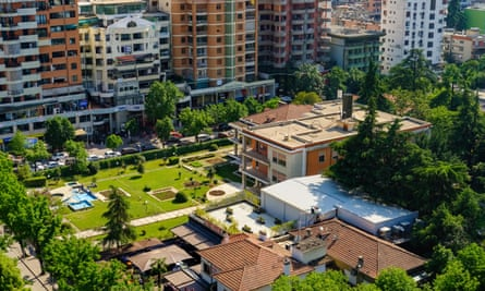 Enver Hoxha's empty villa stands in the centre of the revitalised Blloku district of Tirana.