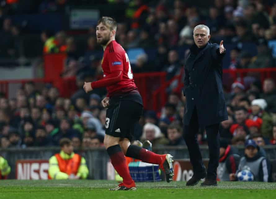 Jose Mourinho has been highly critical of Luke Shaw since working together at Manchester United.
