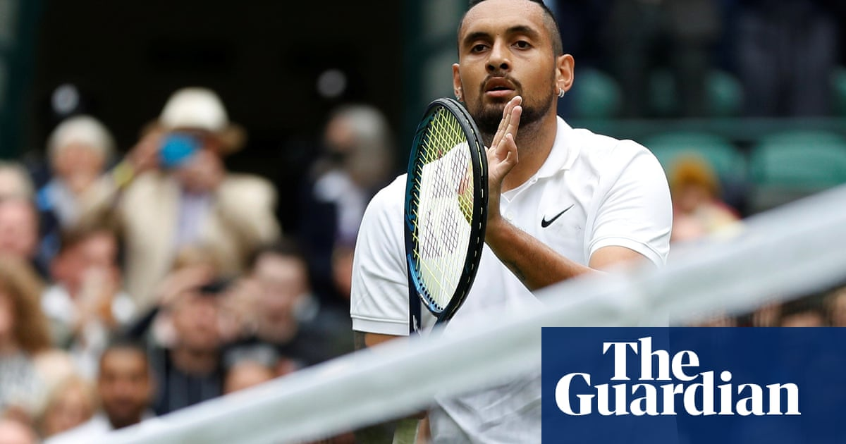 'Man, I'm hurting': Nick Kyrgios vows to fight through the pain at Wimbledon