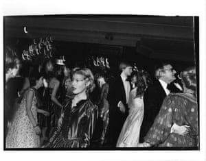 Lady Henrietta Bathurst at the Cinderella ball, December 1980