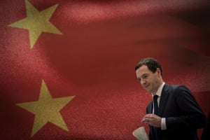 George Osborne in China.