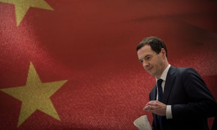 George Osborne in China