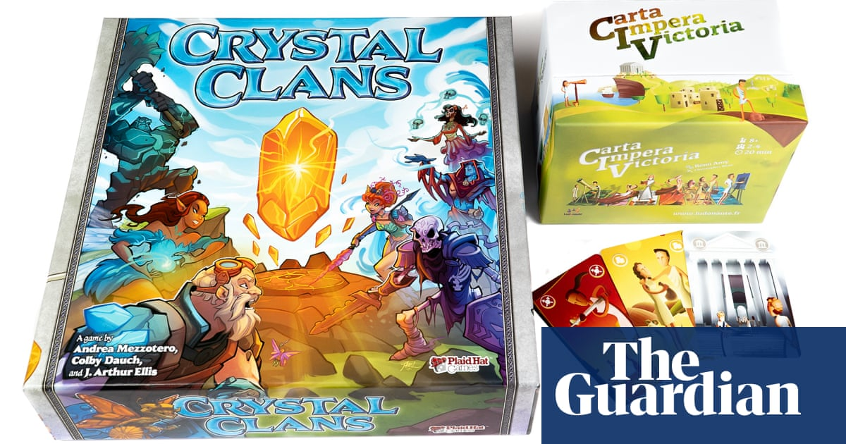 Crystal Clans and CIV: Carta Impera Victoria – take over the world in your lunch break image