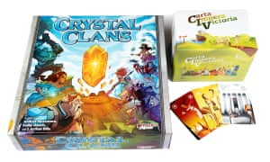 Crystal Clans hands players control of armies of fierce warriors and fantasy creatures, while CIV: Carta Impera Victoria lets you conquer the world in 20 minutes.