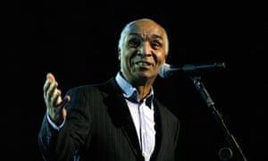 Kenny Lynch performs at the Dusty Springfield tribute concert at the Royal Albert Hall, 2011.