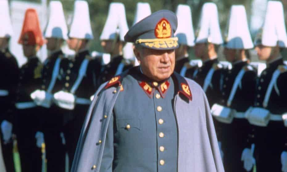 Pinochet: Opponents found strength in music.