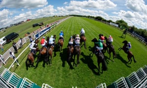 Derby day at Epsom Downs.