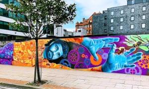 Mural on Ducie Street