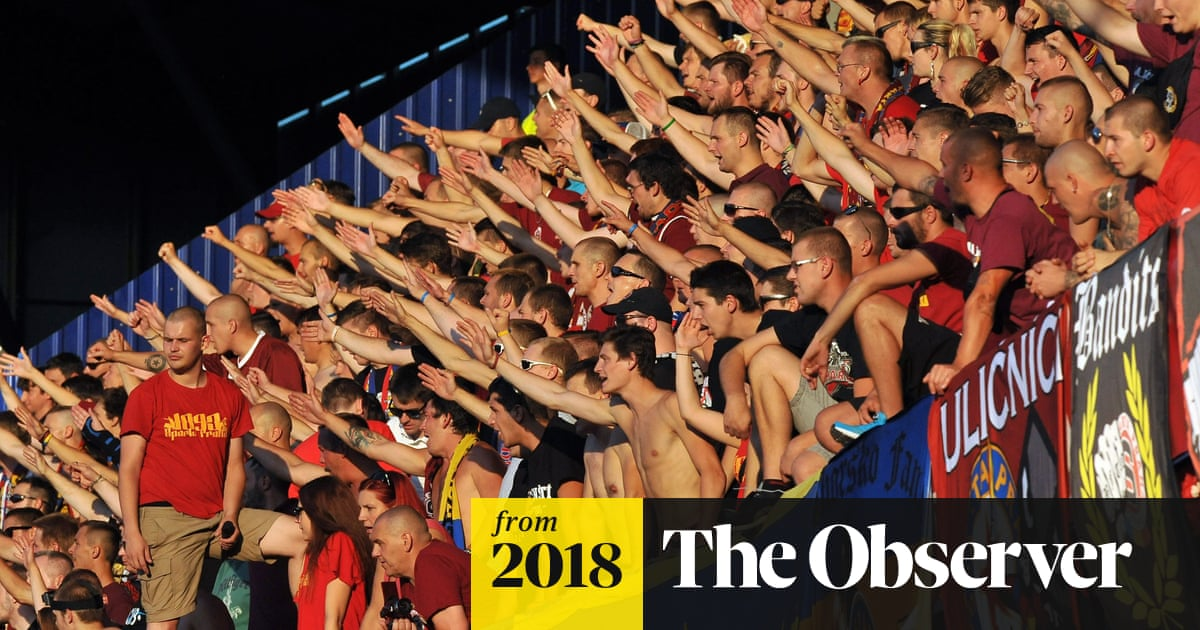 Racist Fans Get Jewish History Lesson As Rival Prague Teams Clash World News The Guardian