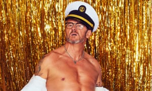 Ship shape ... Joe Pasquale gets his kit off.