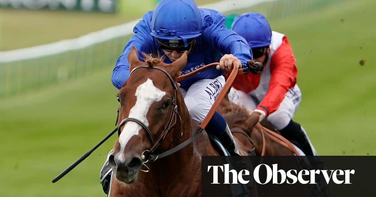 Earthlight wins Middle Park but Frankie Dettori steals the show