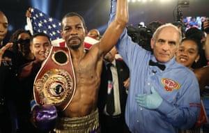 Jamel Herring became a world champion in May after beating Masayuki Ito in Florida.