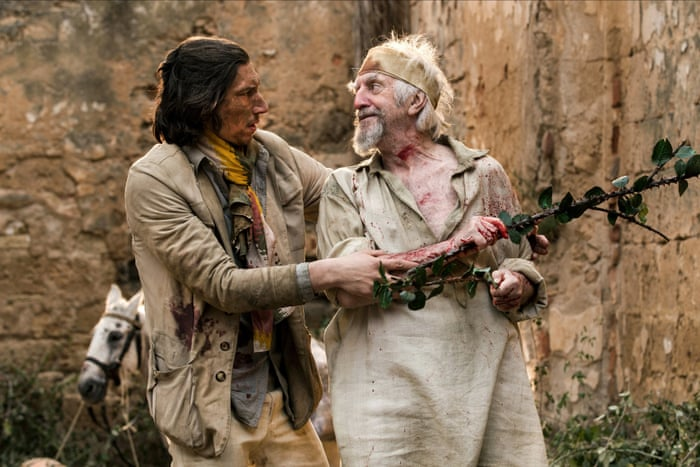 The Man Who Killed Don Quixote review – Gilliam's knight proves errant |  Film | The Guardian