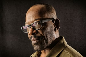 Actor Lennie James photographed in London for a Q&A in the New Review.