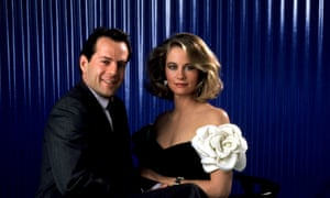 Bruce Willis and Cybill Shepherd in Moonlighting