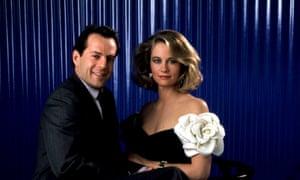 Bruce Willis and Cybill Shepherd in Moonlighting