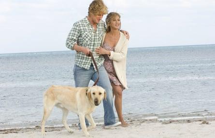Marley & Me Owen Wilson and Jennifer Anniston