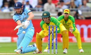 Jonny Bairstow of England in action during the semi-final match of the World Cup 2019 between Australia and England.